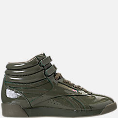 Women's Reebok Freestyle Hi Patent Casual Shoes