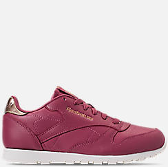 Girls' Big Kids' Reebok Classic Leather Casual Shoes