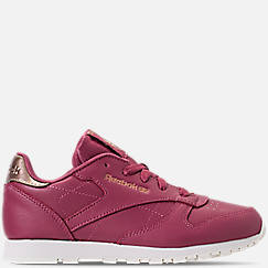Girls' Little Kids' Reebok Classic Leather Casual Shoes