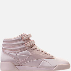Girls' Grade School Reebok Freestyle Hi Lux TXT Casual Shoes