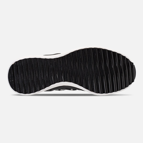 Bottom view of Men's Reebok Liquid Floatride Running Shoes in Black/White
