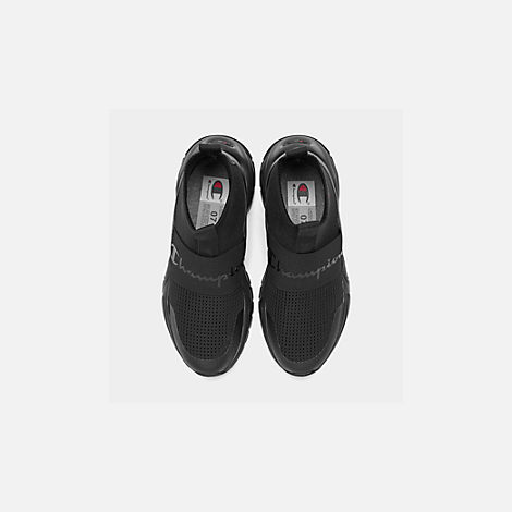 Back view of Women's Champion Rally Casual Shoes in Black