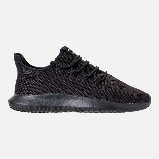 9b07699f54b1 Right view of Big Kids  adidas Tubular Shadow Casual Shoes in Triple Black