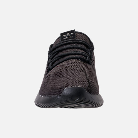 16684cad543c ... cheapest front view of kids grade school adidas tubular shadow casual  shoes in triple black 660e8