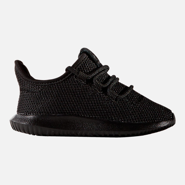 Right view of Kids' Toddler adidas Tubular Shadow Casual Shoes in Triple Black