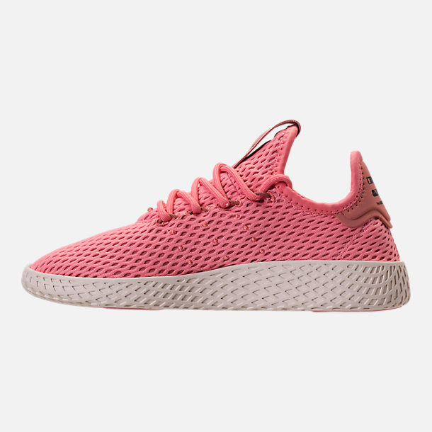 Left view of Girls  Big Kids  adidas Originals Pharrell Williams Tennis HU  Casual Shoes d6c59bb263e