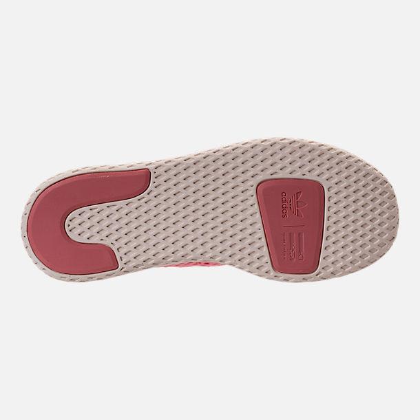 Bottom view of Girls  Big Kids  adidas Originals Pharrell Williams Tennis  HU Casual Shoes 46173e4cb39