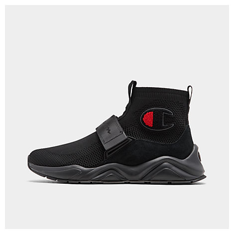champion men's rally lockdown casual shoes in black  modesens
