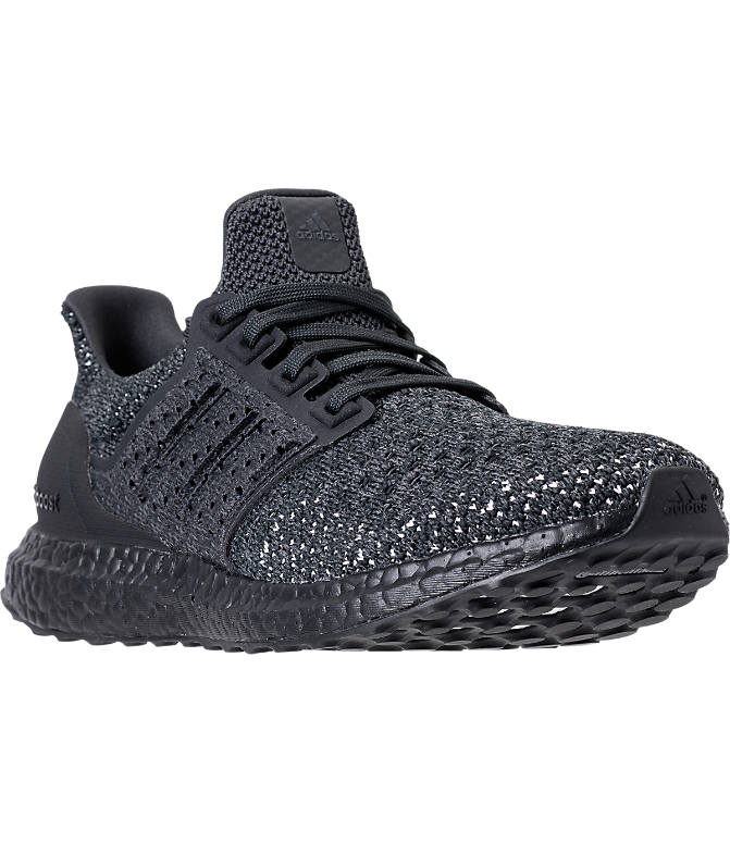 Back view of Men's adidas UltraBOOST Clima Running Shoes in Carbon/Carbon