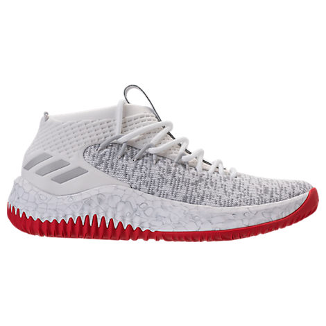 Adidas Originals Adidas Men S Dame 4 Basketball Sneakers From Finish Line  In White ceec4894c