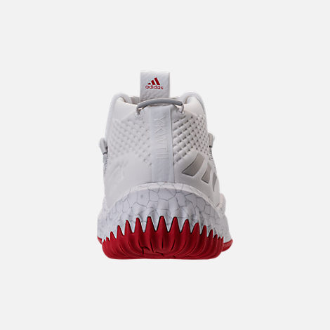 Back view of Men's adidas Dame 4 Basketball Shoes