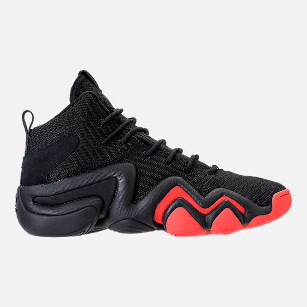 lowest price ac5e5 6c4b9 Right view of Mens adidas Crazy 8 ADV Circular Knit Basketball Shoes