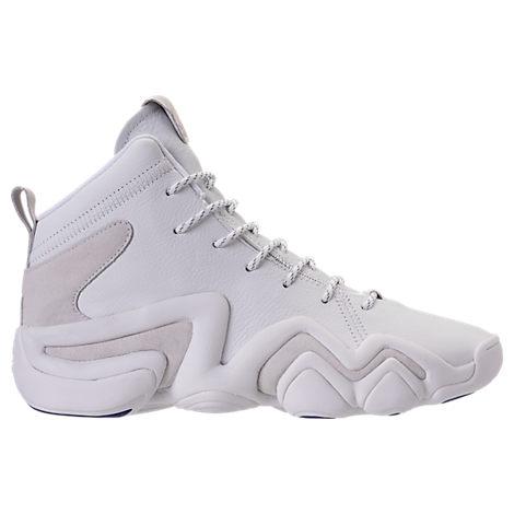 check out 245ac 435c1 Adidas Originals Men S Crazy 8 Adv Primeknit Basketball Shoes White