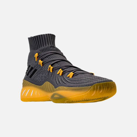 Three Quarter view of Men's adidas Crazy Explosive 2017 Primeknit Basketball Shoes