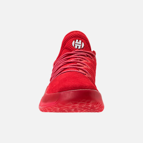 Front view of Men's adidas Harden Vol.1 Basketball Shoes