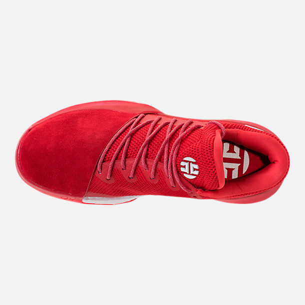 Top view of Men's adidas Harden Vol.1 Basketball Shoes