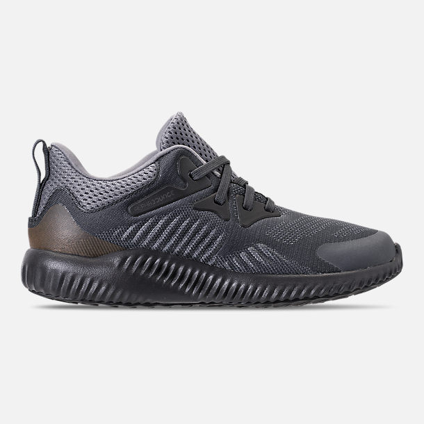 Right view of Little Kids' adidas AlphaBounce Beyond Running Shoes in Grey/Carbon/Solid Grey
