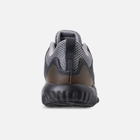 Back view of Little Kids' adidas AlphaBounce Beyond Running Shoes in Grey/Carbon/Solid Grey