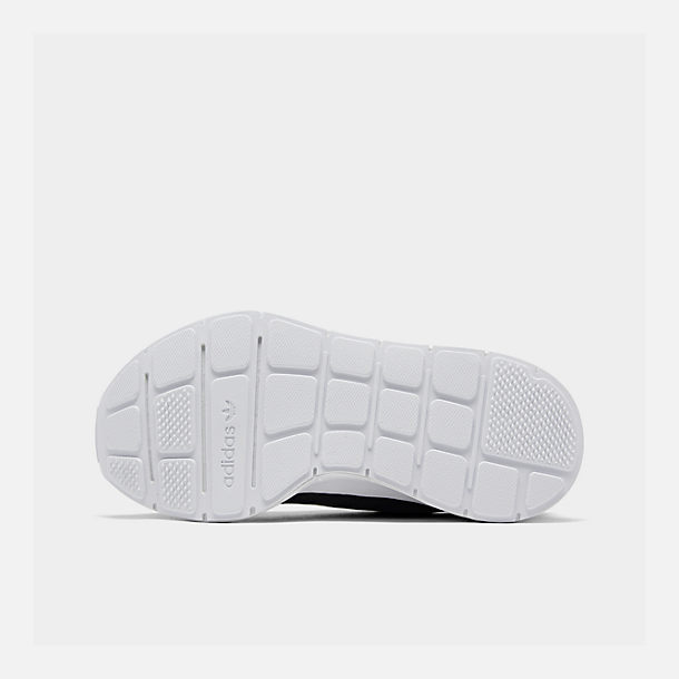 Bottom view of Women's adidas Swift Run Casual Shoes in Core Black/White