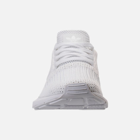 Front view of Women's adidas Swift Run Casual Shoes in White