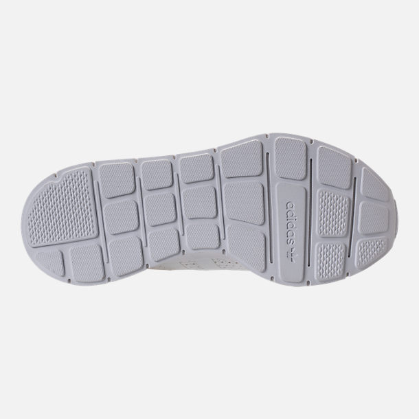 Bottom view of Women's adidas Swift Run Casual Shoes in White