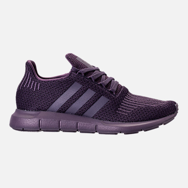 Right view of Women's adidas Swift Run Primeknit Casual Shoes in Trace Purple