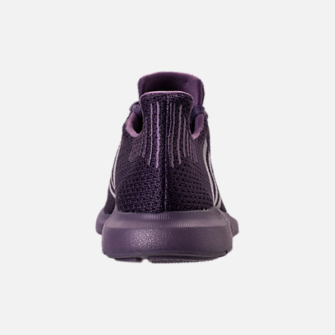 Back view of Women's adidas Swift Run Primeknit Casual Shoes in Trace Purple