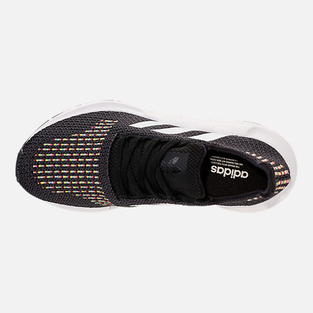 ce4fe0824c3e Top view of Women s adidas Swift Run Casual Shoes in Black White