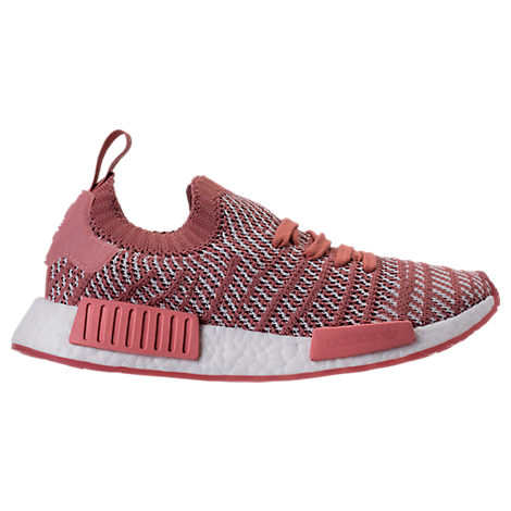 Adidas Women'S Nmd R1 Stlt Primeknit Casual Sneakers From Finish Line, Pink