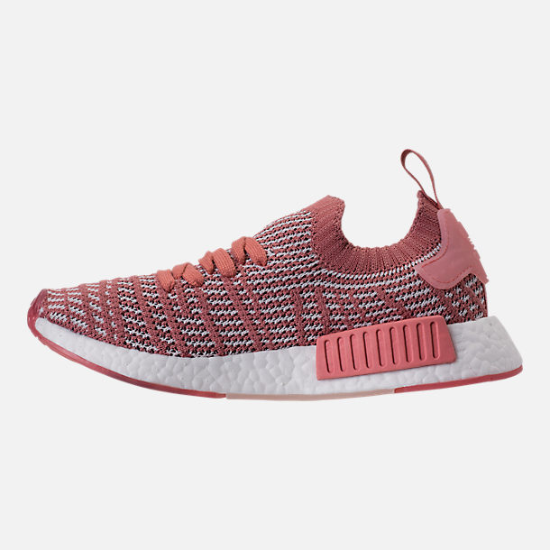 Left view of Women's adidas NMD R1 STLT Primeknit Casual Shoes