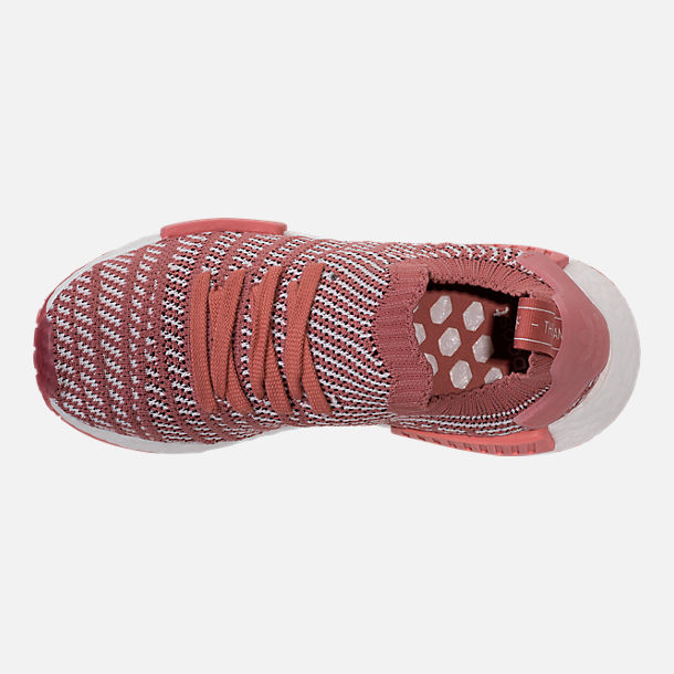 Top view of Women's adidas NMD R1 STLT Primeknit Casual Shoes