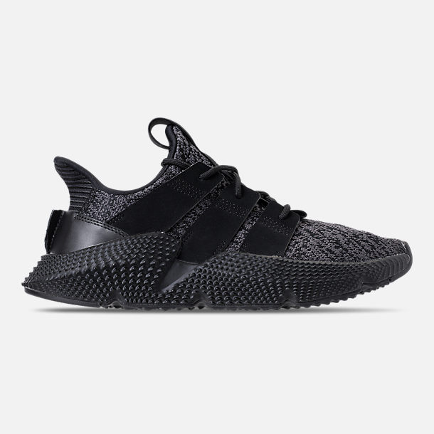 Right view of Men's adidas Originals Prophere Casual Shoes in Core Black/Solar Red