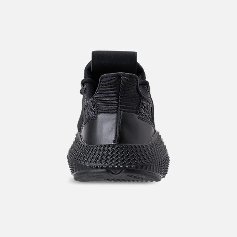 Back view of Men's adidas Originals Prophere Casual Shoes in Core Black/Solar Red