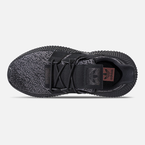 Top view of Men's adidas Originals Prophere Casual Shoes in Core Black/Solar Red