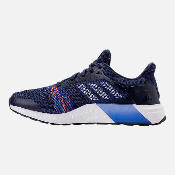 Left view of Men's adidas UltraBOOST ST Running Shoes in Noble Indigo/White/Collegiate Navy