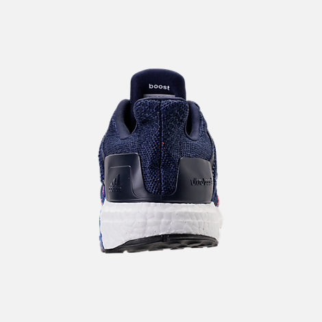 Back view of Men's adidas UltraBOOST ST Running Shoes in Noble Indigo/White/Collegiate Navy