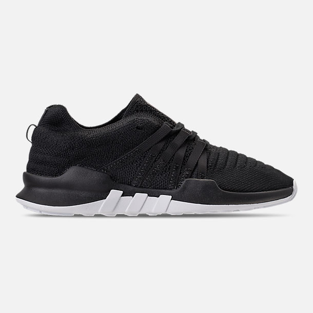 Right view of Women's adidas EQT Racing ADV Casual Shoes in Black/White