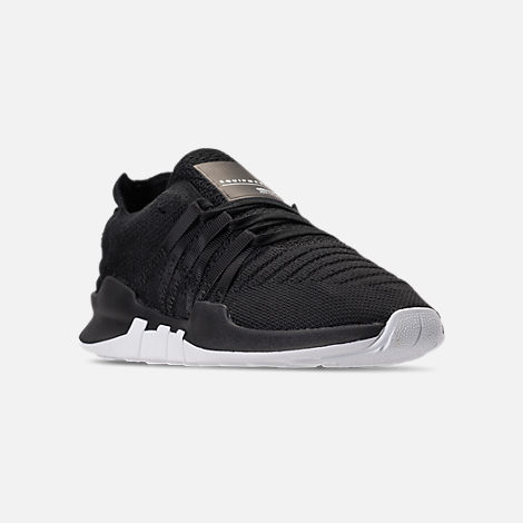 Three Quarter view of Women's adidas EQT Racing ADV Casual Shoes in Black/White