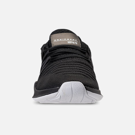 Front view of Women's adidas EQT Racing ADV Casual Shoes in Black/White