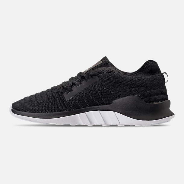 Left view of Women's adidas EQT Racing ADV Casual Shoes in Black/White