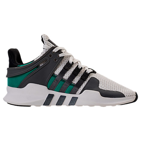 WOMEN'S EQT SUPPORT ADV CASUAL SHOES, WHITE/BLACK