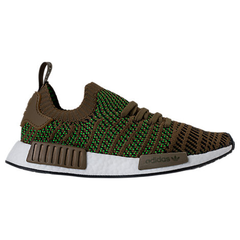 Adidas Men'S Nmd_R1 Stlt Primeknit Originals Running Shoe, Green
