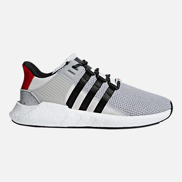 Right view of Mens adidas EQT BOOST Support 9317 Casual Shoes in Grey