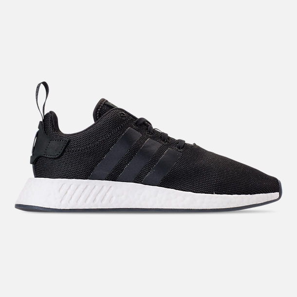 timeless design 40933 297ef Right view of Men s adidas NMD R2 Casual Shoes in Black White