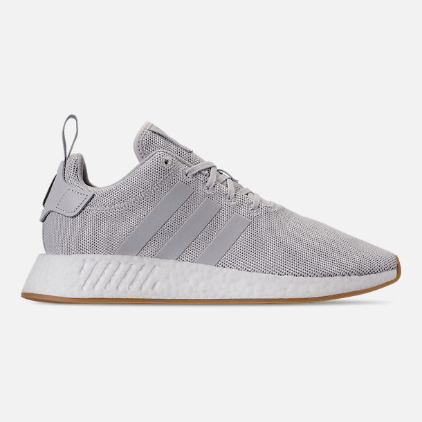 90c062ba8eba1 Right view of Men s adidas NMD R2 Casual Shoes in Grey Solar Slime