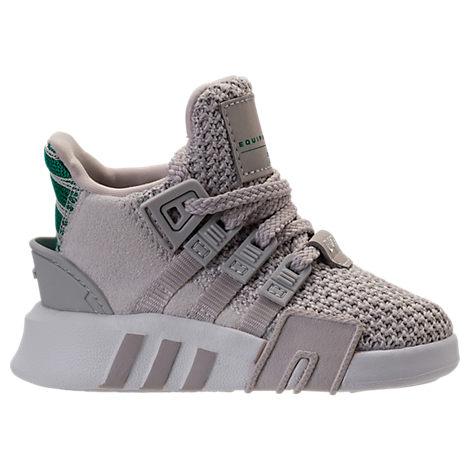 Adidas Originals Boys Toddler EQT Basketball ADV zapatos casuales, gris