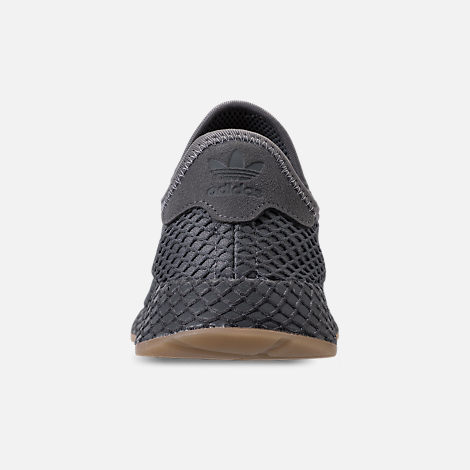 Back view of Men's adidas Originals Deerupt Runner Casual Shoes in Grey/Grey/White