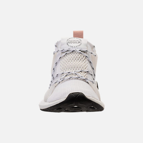 Front view of Women's adidas Originals Arkyn Boost Casual Shoes in White/Ash Pearl