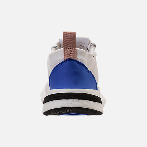 Back view of Women's adidas Originals Arkyn Boost Casual Shoes in White/Ash Pearl
