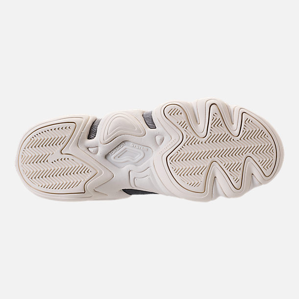 Bottom view of Women's adidas Crazy 8 Casual Shoes in Platinum Metallic/Off White